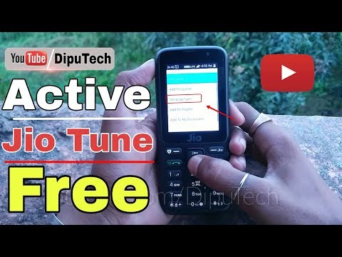 How to active Jio tune in jio phone.| enable jio tune easy method in jio phone| Jio phone latest