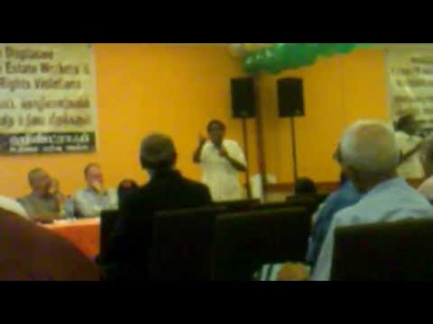 Hindraf Forum On Displaced Malaysia Indian Estate Workers 09 Nov 2012