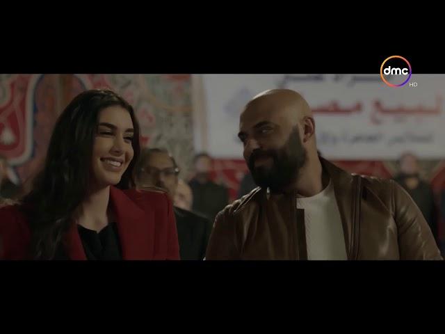 مسلسل حكايتي - داليدا تهزم سعد و ادهم في مزاد علي مصنع ملابس في الخان.. و رد فعل غريب من سعد