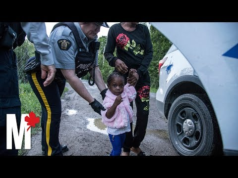 How Canada's border towns are dealing with a growing stream of refugees
