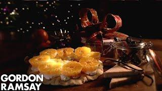 Vanilla Shortbread With Crème Fraîche & Clementines | Gordon Ramsay