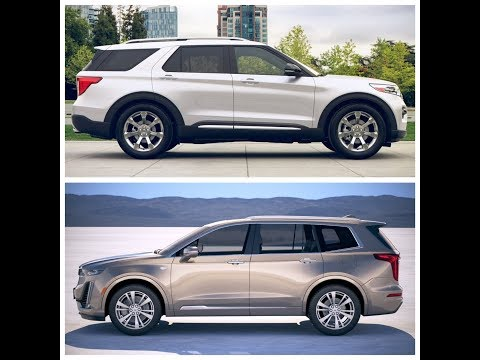 Cadillac XT6 2020 vs Ford Explorer 2020
