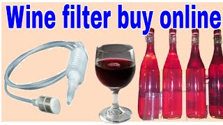 Wine filter package unboxing & review i bought on Amazon