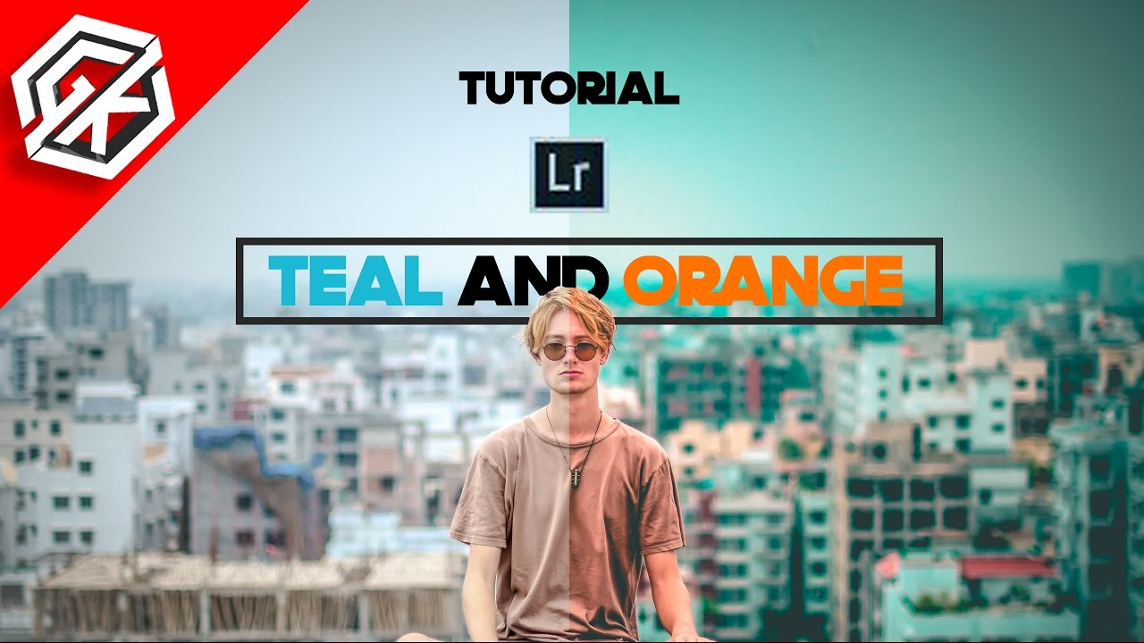 Quick and Easy Orange and Teal Look in Lightroom | Fstoppers