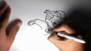 Como dibujar a Dash Robert Parr Los Increíbles l How to draw Dash Robert Parr The Incredible
