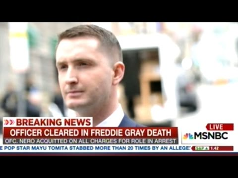 Judge Finds Cop In Freddie Gray Murder Case NOT GUILTY!