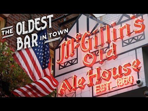 Oldest Bar In Town - McGillin's Olde Ale House - Philadelphia, PA