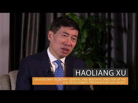 Haoliang Xu, UN Assistant Secretary General and Director of UNDP Asia Pacific