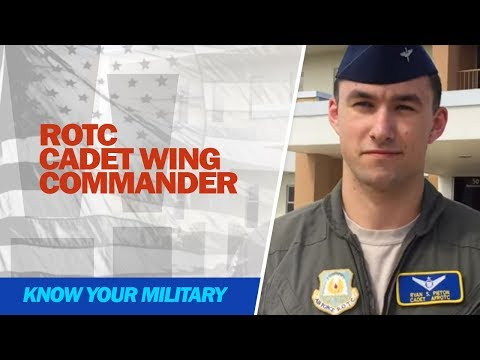 ROTC Cadet Wing Commander