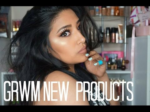 GRWM Using NEW Products! Mannymua Palette, Tatcha & More! - Alexisjayda thumbnail