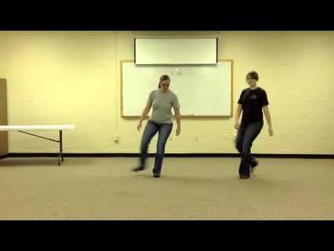 C'mon Ride the Train Line Dance Instruction