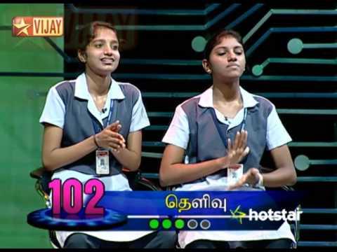 Oru Varthai Oru Latcham Juniors 11/15/15