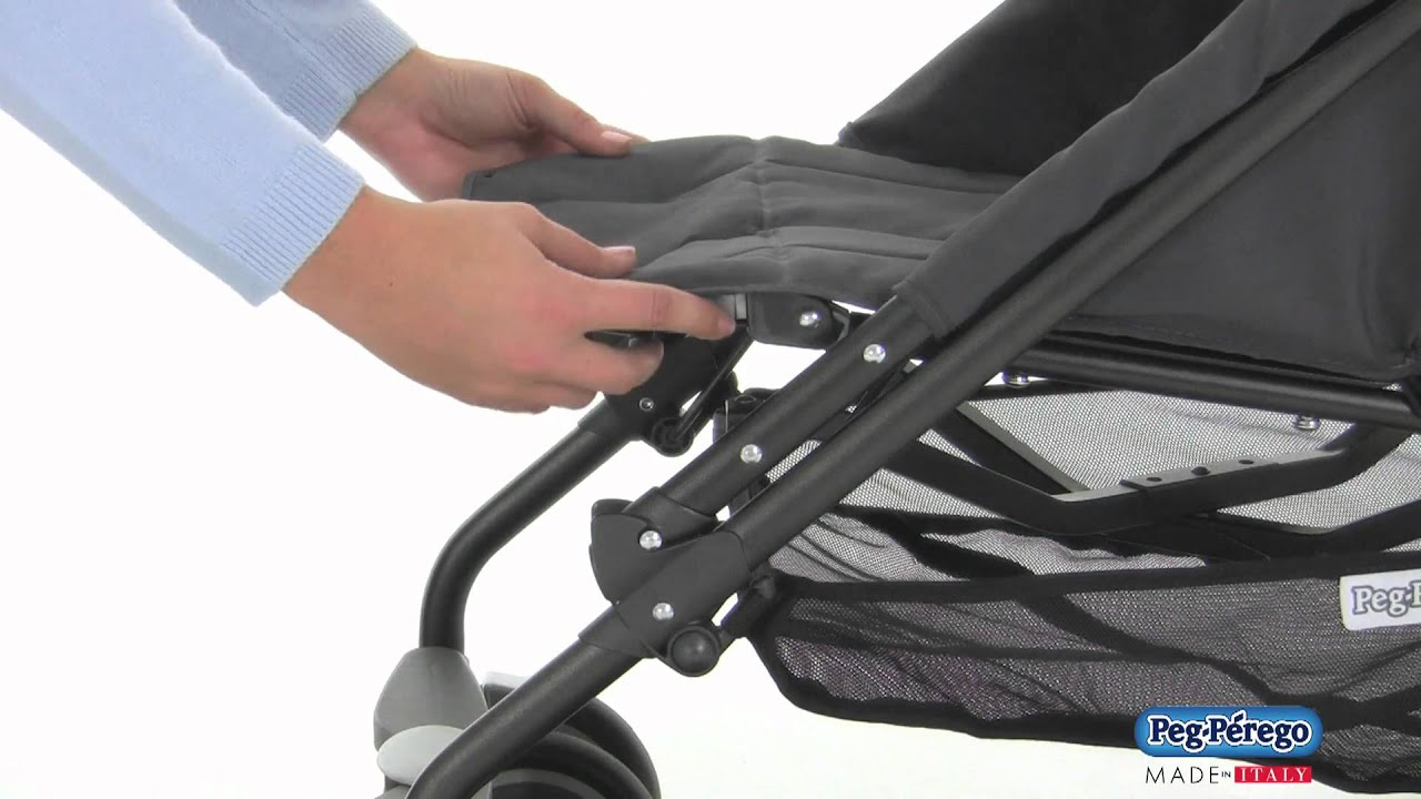 Peg Perego Book Classico Pois Grey 2011 Stroller Peg Perego Pliko Mini Official Video