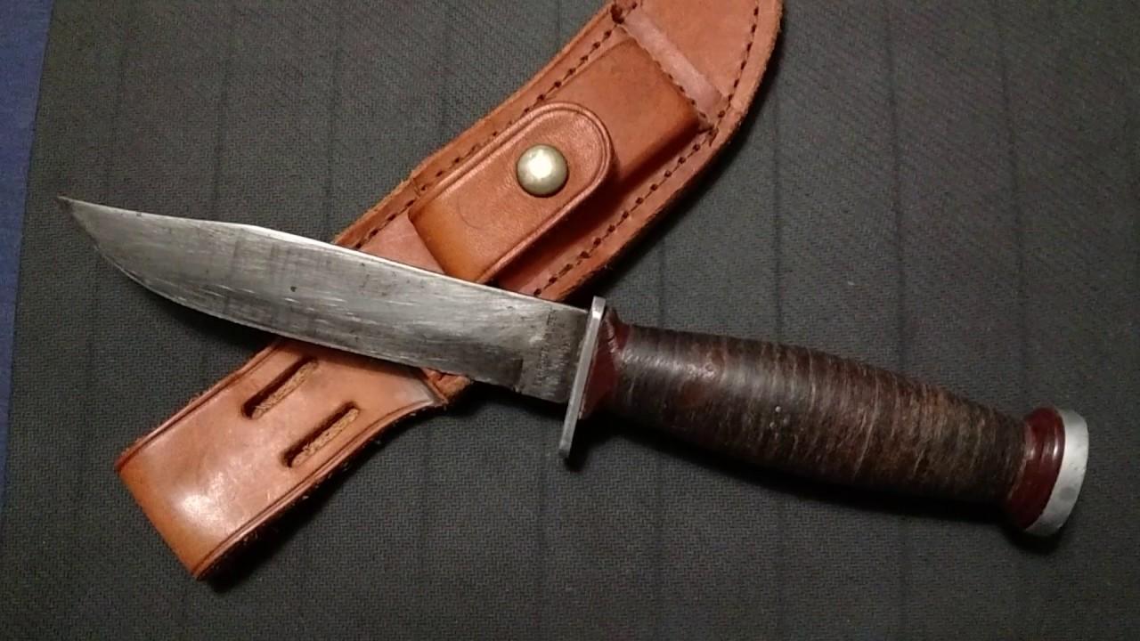 Schrade Walden kniv dating