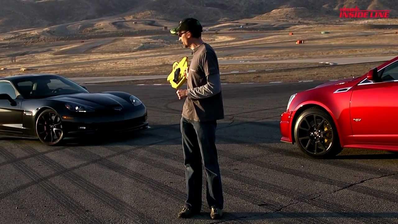 Burnout Super Contest 5 Corvette Z06 Centennial Edition Vs Cadillac Cts V Coupe