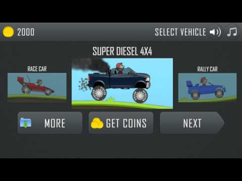 Hill Climb Racing for Android, iPhone and iPad