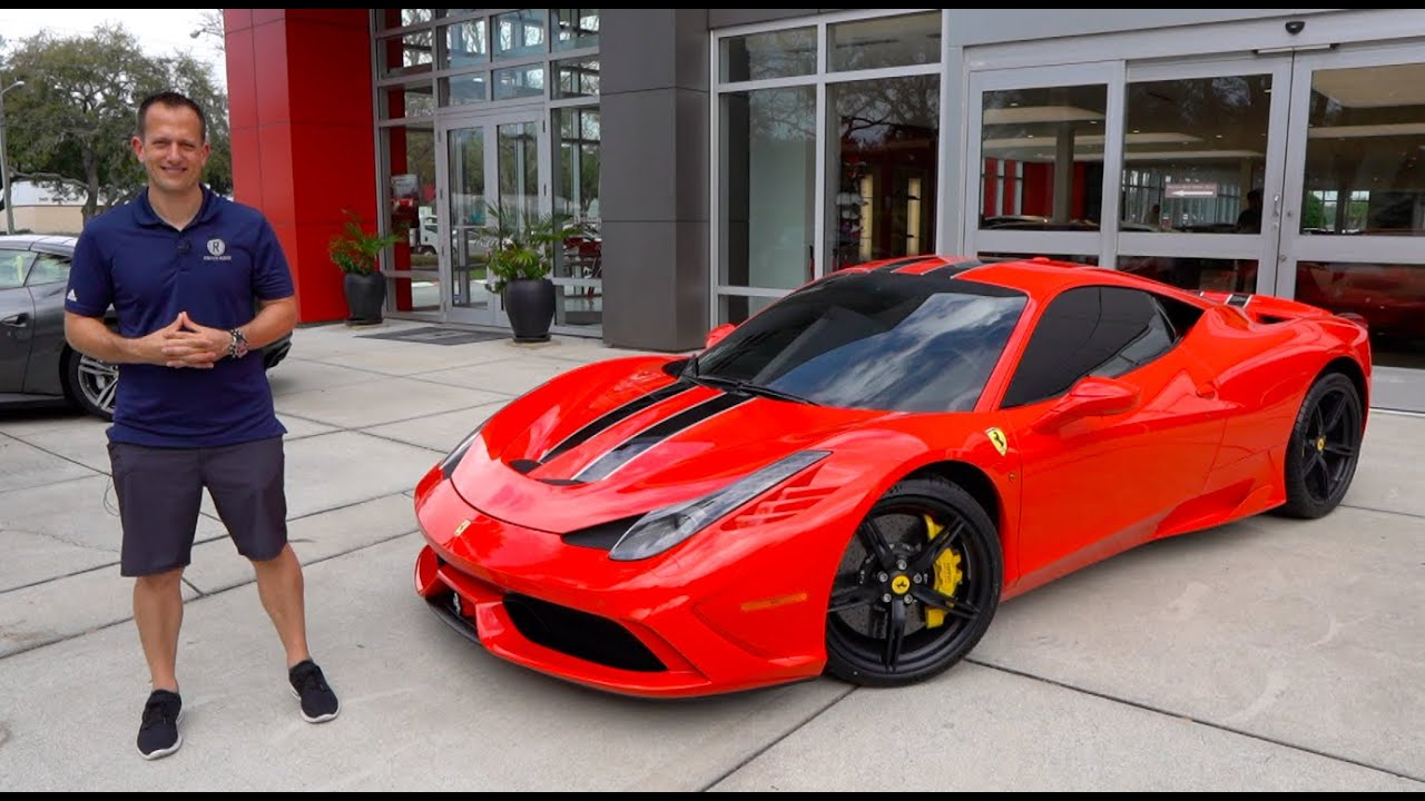 Is The 2015 Ferrari 458 Speciale The Ultimate Modern Ferrari To Buy Youtube