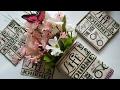 DOLLAR TREE NAPKINS | MOD PODGE |  DIY Upcycle Glass Vase