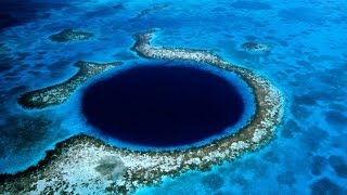 Underwater Alien Stargate in Enigmatic Blue Hole Belize