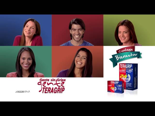 #CinesaComerciales Teragrip - Contagia bienestar + Nuevos sabores