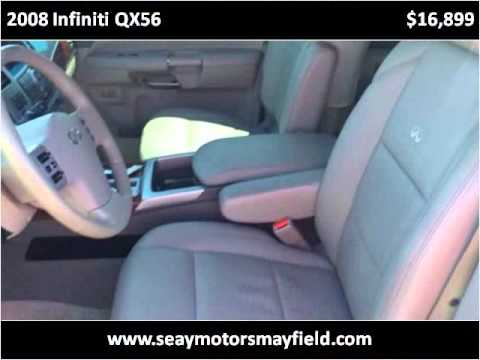 2008 Infiniti QX56 Used Cars Mayfield KY - YouTube