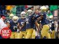 Kirk Herbstreit has Notre Dame on upset alert against Vanderbilt | Golic and Wingo | ESPN