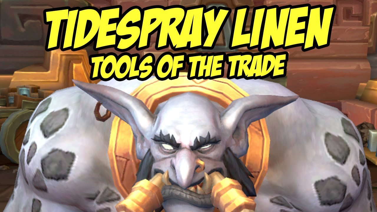 wow tools of the trade bfa