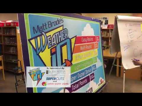 Weather IQ at Vesey Elementary School