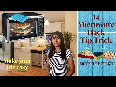 14 Microwave Oven Hacks Tip Trics Microwave Life Hacks