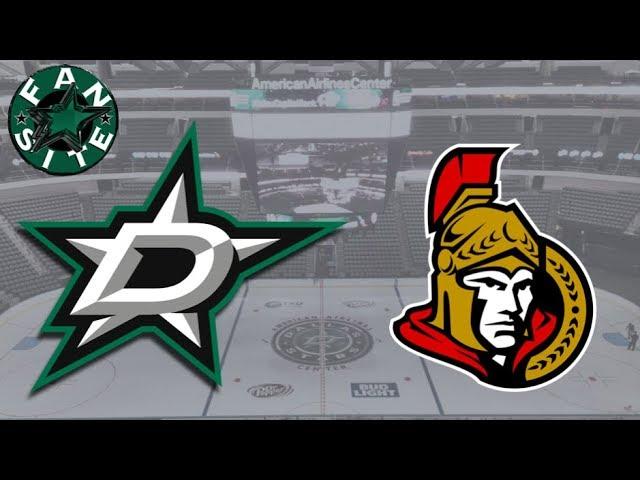 Dallas Stars @ Ottawa Senators | 16 Mar 2018