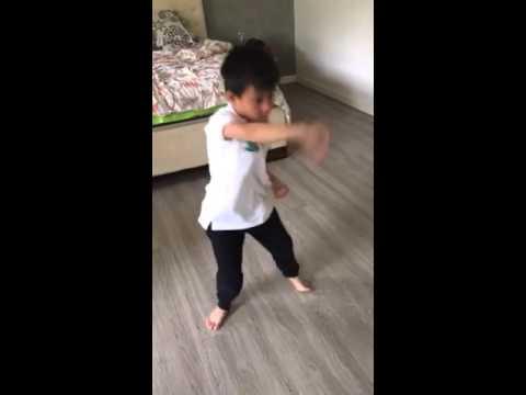 Karate Kid wannabe