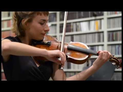 Violinist Gloria Ferry-Brennan on Classical KING FM
