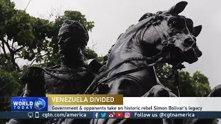 In Venezuela, even legacy of Simon Bolivar is in dispute
