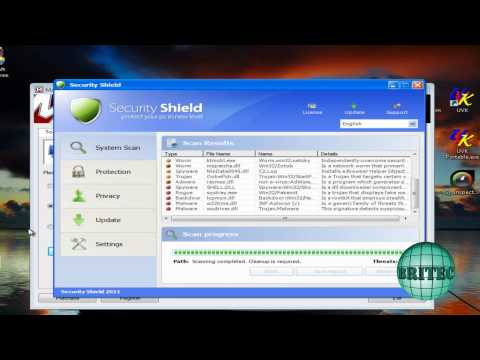 Remove New Malware Rogue Security Shield 2011 by Britec