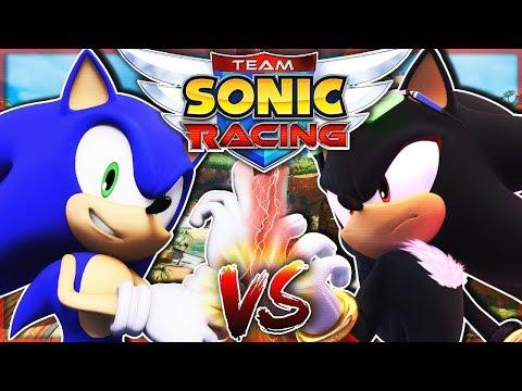 SONIC VS SHADOW! - Team Sonic Racing! |