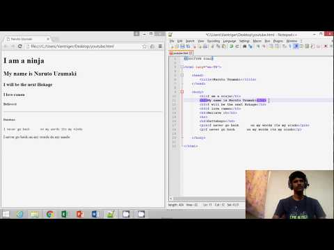 Html Tutorial 4 - Lang And Title Attributes