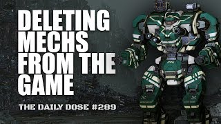 Boomhammer 2.0 - Deleting Mechs from the Game - Mechwarrior Online The Daily Dose #289