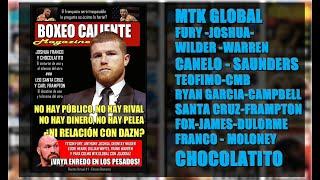 Hot Boxing #1: Canelo, Fury, Chocolatito, Teófimo, Ryan, Santa Cruz, JoJo y otros temas