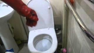 ТП9-3 Прочистка засора в туалете