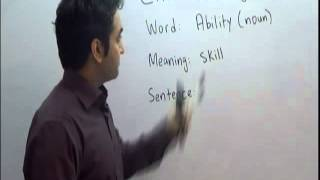 CAFELS (Basic English): Ability Meaning and Sentence in Urdu/Hindi-Canada Qualified