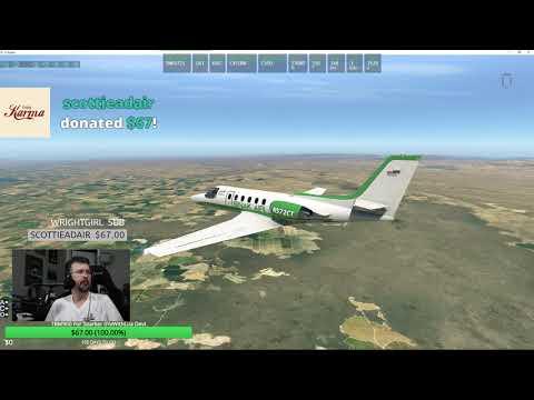 FlyJSim Dash 8 Q400 KAVL to KFAY X-Plane 11 by Jon Fly