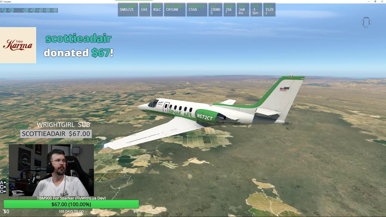 FSE Citation II S550 Jet on a Grass Strip?