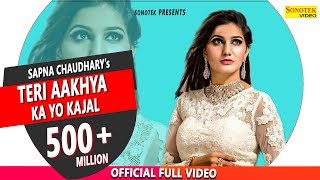 Download Video Teri Aakhya Ka Yo Kajal | Superhit Sapna Song | Sapna Chaudhary | New Haryanvi Song 2018 | Sonotek MP3 3GP MP4