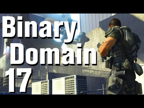 Binary Domain Walkthrough Part 17 - West 1 Treatment Tank