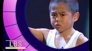 Meet mini-but-mighty Bruce Lee Kid Ryusei | Little Big Shots...