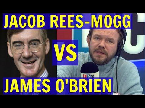 Jacob REES-MOGG vs James O'BRIEN on BREXIT - LBC