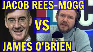 Jacob REES-MOGG vs James O'BRIEN on BREXIT - LBC