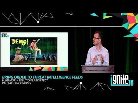 Bring Order to Threat Intelligence Feeds (2016)