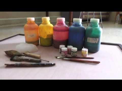 Batik painting -  Shrinathji
