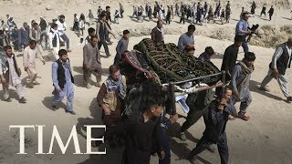 Gunmen Besiege Intelligence Facility In Kabul, Afghanistan Mourns Victims Of Suicide Bombing | TIME